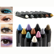 New Magic Eyeliner Pencil  Cosmetics 12 Colors Makeup Pencil Waterproof Eyeshadow Eye Liner Lip