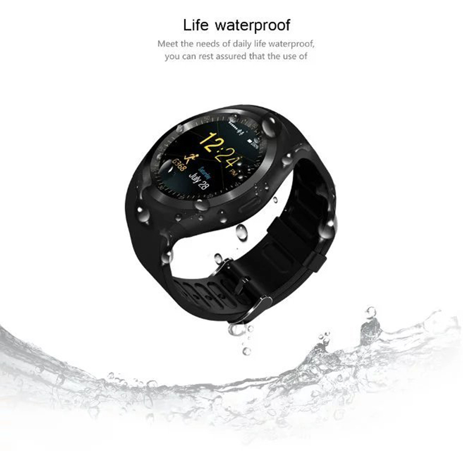 image for Smart Watch Y1 Wearable Devices Support Nano SIM &TF Card With Whatsap