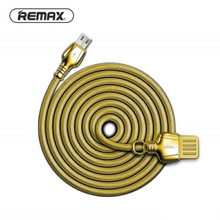 Remax RC-063m Zinc alloy fast charging King USB Data Cable for Sumsung HTC HUAWEI(China)