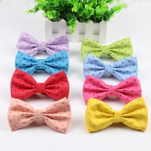 Candy Women Men Bow Tie High Quality Flexible Bowtie Smooth Necktie Soft Dot Butterfly Decorative Sweet Pattern Colorful Ties