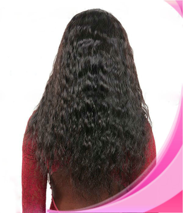 Hot Sale Spanish Wave Full Lace Wig In Stock Indian Remy Virgin Human Hair Lace Wig With Baby Hair Bleached Knots<br><br>Aliexpress