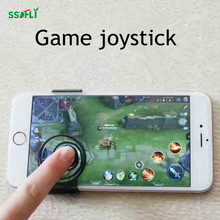 Smart phone touch screen game joystick telescopic buckle 360 degree sliding elastic mobile phone tablet computer artifact rocker(China)