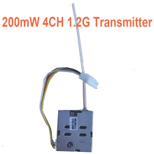 cctv accessories 4CH 200mw wireless 1.2g transmitter CCTV security mould TX 1200mhz CCTV transmitter 1.2G FPV drone transmitter