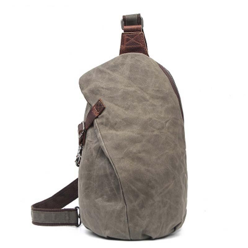YISHEN Vintage Men Chest Bags Casual Canvas Male Shoulder Crossbody Bag Hobos Men Travel Bag Sling Strap Bag Bolsa Mujer FX2040<br>