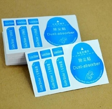 Screen Clean Tools Dust Absorber Guide Sticker For  Mobile Phone Screen Glass With Tracking Number