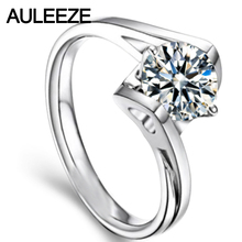 Heart Angel Kiss Ring 9K White Gold Wedding Rings For Women Engagement Ring 1CT Simulated Diamond Jewelry Valentine's Day Gift
