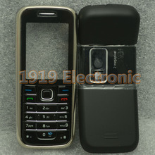 New Full Complete Mobile Phone Housing Cover Case+English Or Rus Russian Keypad For Nokia 6233 + Tools+Tracking