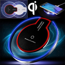 Universal Qi Wireless Charger Charging Pad Mobile Phone Adapter Dock Station Wirless Charge Cell for Samsung S7 S6 edge Note 4 5