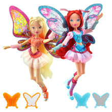 Believix Fairy Winx Club Doll rainbow colorful girl Action Figures Fairy Bloom Dolls with Classic Toys For Girl Gift(China)