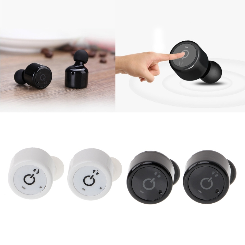 OOTDTY X1T Mini Wireless Bluetooth V4.2 Earphone Separated Twins Stereo In-Ear Headset
