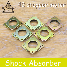 Hot sale!5 pcs/lot  Nema 17 stepper motor Vibration Damper shock absorber for 42 step motor ,Free shipping