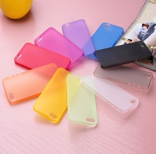 Ultra Thin Clear Matte Skin Case For iphone 4 4S 4G 5 5s 6 Cheap Cute Transparent Soft TPU Scrub Mobile Phone Bags Cover & Gift