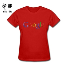 New design Hipster Basic Tops Funny Google Network Cotton funny t shirt women(China)