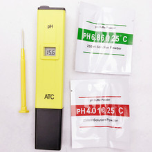 High quality portable Digital PH meter tester Pen Aquarium Pool Water Drink quality test detected With ATC