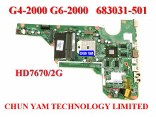 Original  683031-501 for HP Pavilion G4 G6 G4-2000 G6-2000 motherboard 683031-001 DA0R53MB6E1 REV:E mainboard 90 Days Warranty