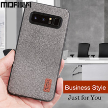 MOFi case for Samsung note 8 case cover silicone edge men business note 8 back cover for samsung galaxy note 8 note8 case(China)