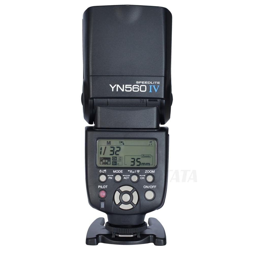 YONGNUO YN560 IV YN-560 IV Master Radio 2.4G Wireless Flash Speedlite for Canon Nikon Pentax Sony A7 A7r A7s Cameras<br><br>Aliexpress
