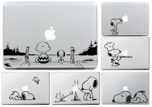 Charlie Brown and Dog for apple Sticker Macbook Skin Air 11 12 13 Pro 13 15 17 Retina Decal Loptop Wall Car Vinyl Logo