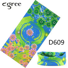 C.gree Custom Neck Tube Headband Outdoor Sport Head Scarf Face Mesh 25*48 cm Solid Bandana Ski Cycling Sport Bandana Tube Ring