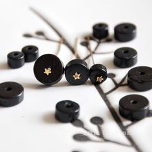 Natural coconut shell spacer 6/8/10/12x4mm disc loose beads diy bracelet necklace earrings making jewelry craft findings