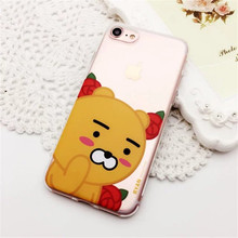 Meachy For iPhone 6 6s 7 Plus Phone Cases Korean Pop Cartoon Cute Silicon Cover Funda For iPhone 7 Ryan Case E32(United States)