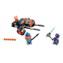 Lepin 70347 Bela 10590 Pogo Nexus Knights King's Guard Artillery Model Building Blocks Bricks Toys Compatible Legoe - Toy Capital store