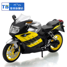 1:12 Children motor moto cycle cool K1200S Diecast motorbike Alloy metal models servo toys motorcycles race car gift for boys
