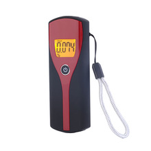 2017 Professional High Accuracy Digital Alcohol Breath Tester Portable Easy Use Breathalyzer Alcohol Analyzer Detector with LCD(China)