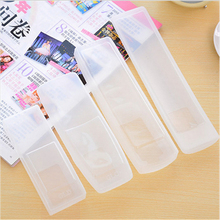 2Pcs Silicone TV Remote Control Cover Air Condition Control Case Waterproof Dust Protective Storage Bag Organizer