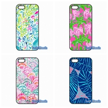 For Apple iPhone 4 4S 5 5S 5C SE 6 6S 7 Plus 4.7 5.5 iPod Touch 4 5 6 Original Lilly Pulitzer Style Case Cover