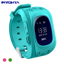 MYOHYA New for gps child tracking bracelet track gps location smart baby watch gps tracker china with good quality from factory(China)