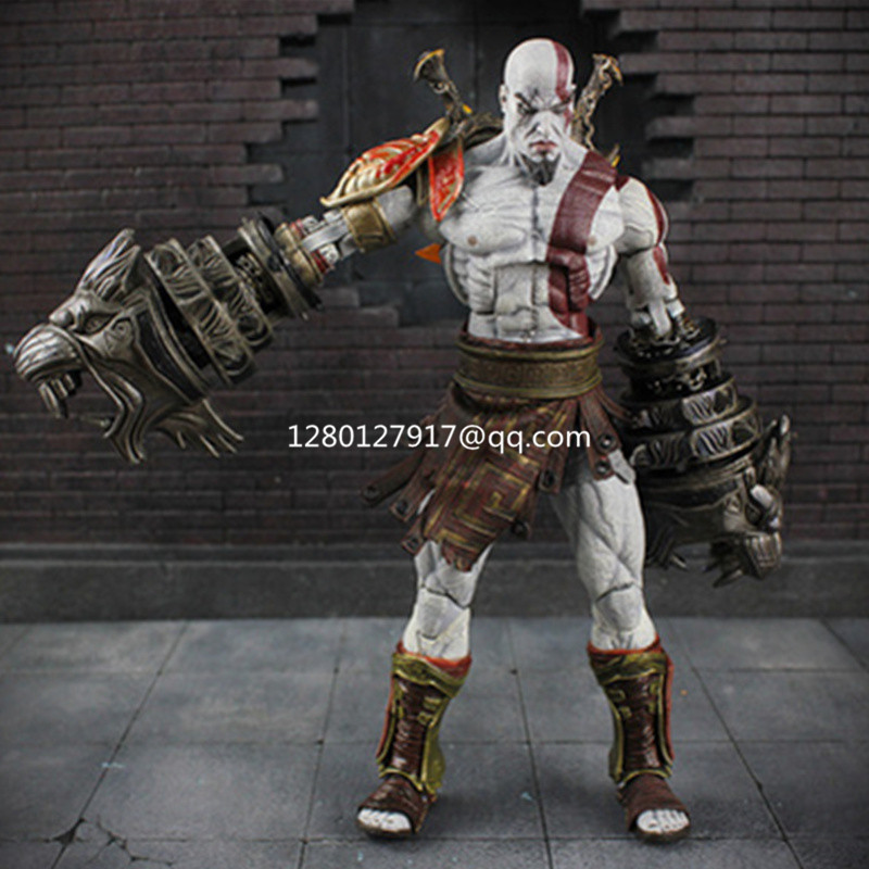 Kratos Mini Figures Video Games Building Blocks Myth Rare Toy Kids Collectible