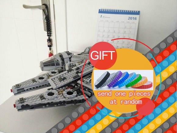 05007 1381pcs Star warfare Millennium Falcon Figure Toys building blocks marvel mini Kids 10467 lepin<br>