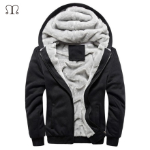 New 2017 Man's Sweatshirt Casual Soft Thick Men Hoodies Solid hip hop Warm Hoodie large size Popular For Male Plus 5 Colors(China)