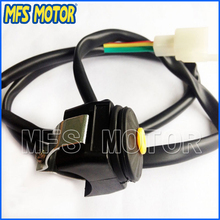 Motorcycle parts Push Button Kill Switch Dirt Pit Gokart for Honda Yamaha Kawasaki Suzuki SSR(China)