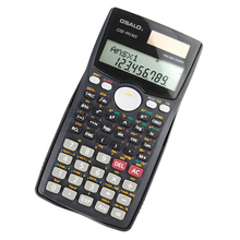 Drop Shipping 991MS Scientific Calculator Function Calculator Solar Calculadora Cientifica Multifunctional Counter Calculating(China)