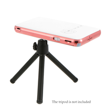 Mini DLP Projector with Android 5000mAh Rechargeable Battery Bluetooth HDMI USB TF Card Slot for Home Outdoor Theater