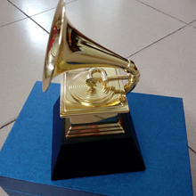 Metal Trophy Gramophone Awards GRAMMYS Souvenir-Collection And THE 60-Th NARAS Nice-Gift