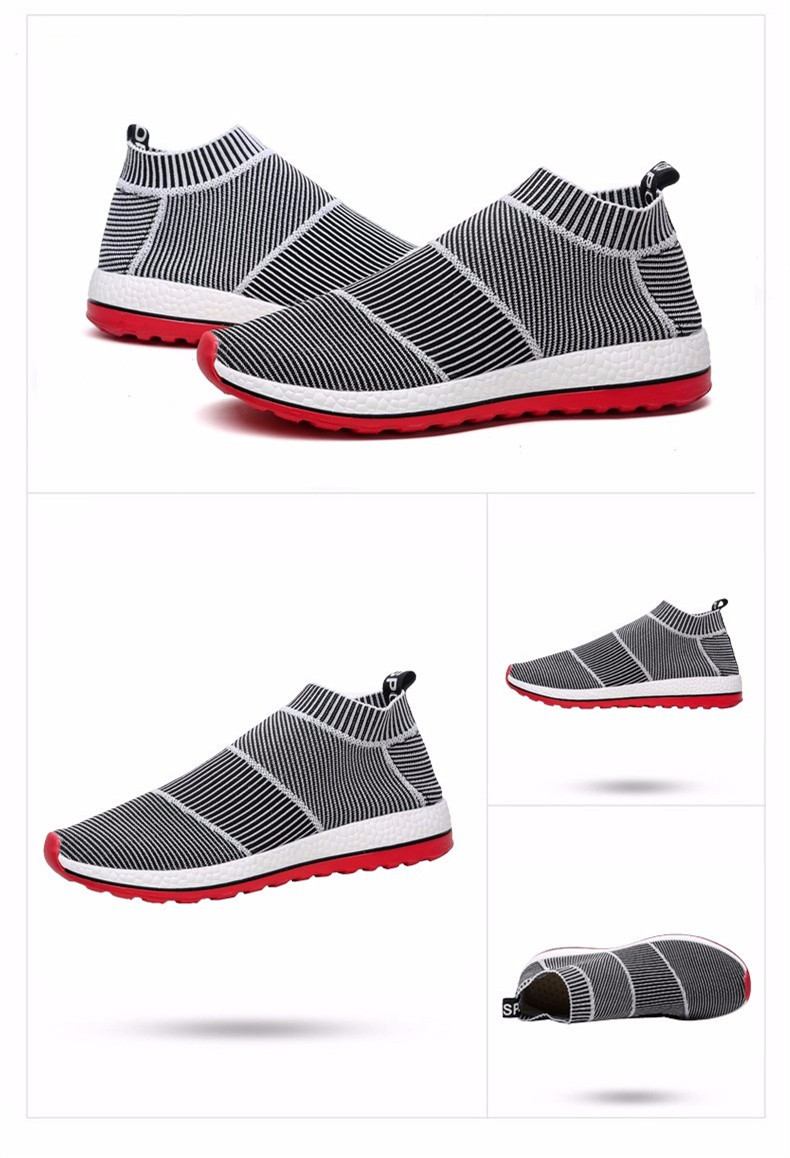 hot sale running shoes for men women sneakers sport sneaker cheap Light Runing Breathable Slip-On Mesh (Air mesh) Wide(C,D,W) 10