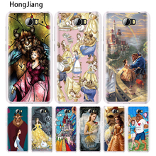HongJiang Beauty and The Beast at the Castle rose cell phone Cover Case for Huawei Honor 5A 6A 6C 6X 9 NOVA PLUS lite Y3 ii 2(China)