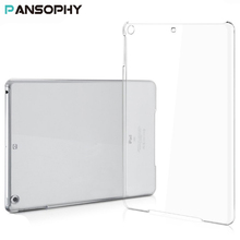 "Clear Crystal Hard Plastic Case for New iPad 2017 Case for iPad Air 2 Pro 9.7"" Protective Case for iPad Mini 2 3 4 Cover"