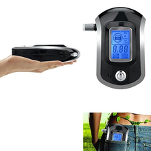 Portable Smart Breath Alcohol Tester Digital LCD Breathalyzer Analyzer AT6000 20Pcs/Lot by DHL Shipping(China)