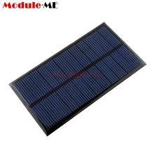 Mini 6V 1W Solar Panel Bank Solar Power Panel Module DIY Power For Light Battery Cell Phone Toy Chargers Portable(China)