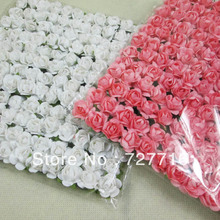 Free shipping mix 144 pcs/lot/ Handmade mini paper flower Mulberry flower for DIY Scrapbooking and make you card(China)