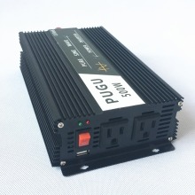 500W Car Power Inverter Peak Power 1000W Pure Sine Wave 12V/24V/48V DC to 220V/230V/240V AC 50HZ Off Grid with USB Port