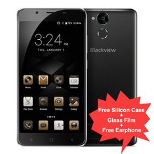 "Original Blackview P2 Lite 6000mAh 3GB RAM 32GB ROM Mobile Phone 5.5"" 1080P MTK6753 Octa Core Fast Charge Android 7.0 Smartphone"