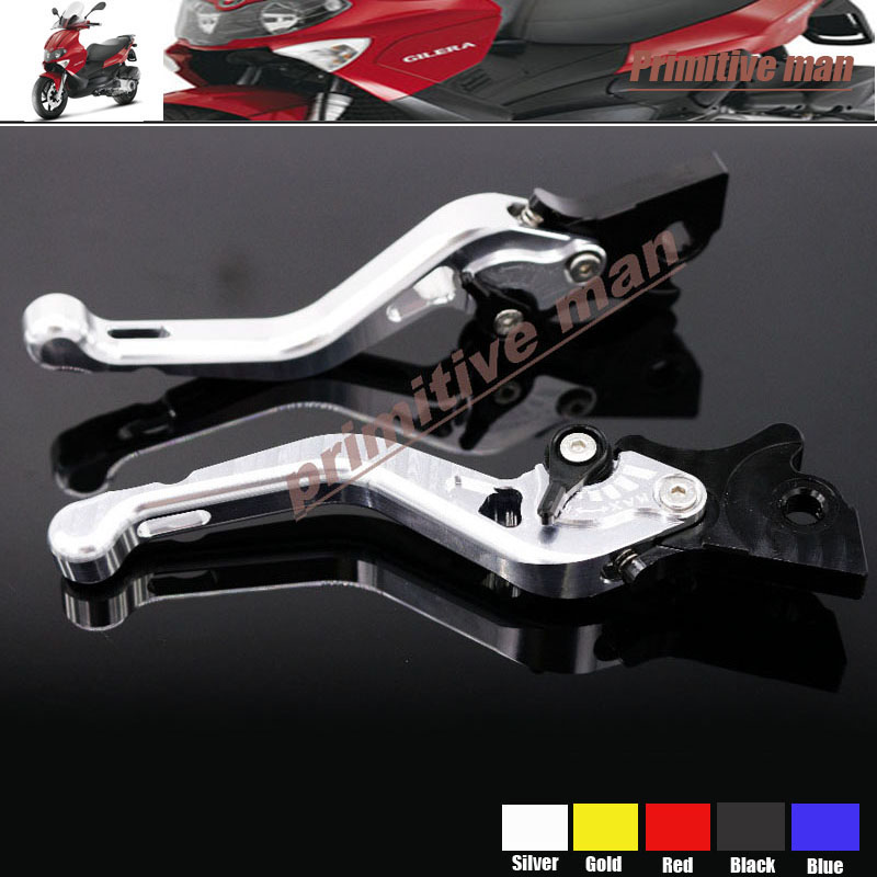 For GILERA Runner 200 2005-2008 Motorcycle Short Brake Clutch Levers Silver<br><br>Aliexpress
