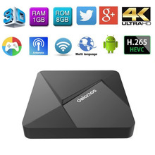 DOLAMEE D5 Android TV Box RK3229 Android 5.1 Fully Loaded 2GB DDR3 8GB emmc Miracast Streaming HD Smart TV Media Player WiFi(China)