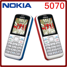5070 Original Nokia 5070 GSM 2G Unlocked Cheap Cell Phone One year warranty Free Shipping(China)