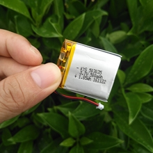 3.7V built-in Polymer LiPo Rechargeable lithium ion Li-ion battery 500mAh 503035 053035 For Bluetooth PAD(China)